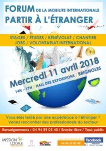 Affiche Forum mobilité 2018